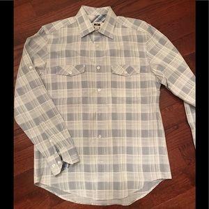 Joseph Abboud button up dress shirt. Size Medium.